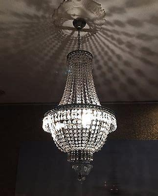 kronleuchter kristall cm hoehe korbleuchter deckenlampe