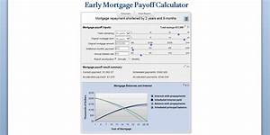 Mortgage Payment Chart Early Mortgage Payoff Calculator Be Debt Free Mls