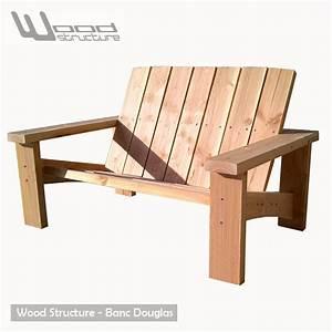 Banc Bois Ikea : banc douglas banc de jardin wood structure ~ Premium-room.com Idées de Décoration