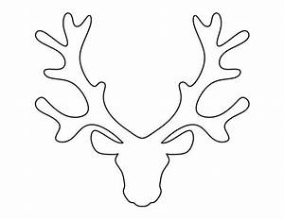 best 25 reindeer head ideas on pinterest reindeer With template for reindeer antlers