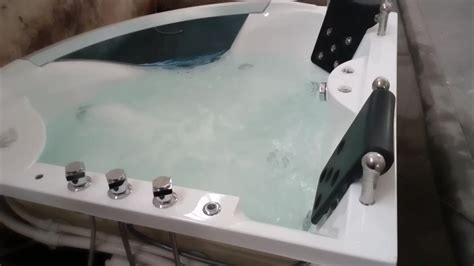 2 Person Corner Whirlpool Japanese Soaking Tubs For