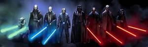 Il était un personnage...Jedi & Sith