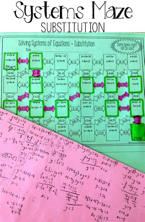Best 20+ Systems Of Equations Ideas On Pinterest