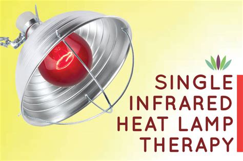 single infrared bulb heat l therapy liveto110