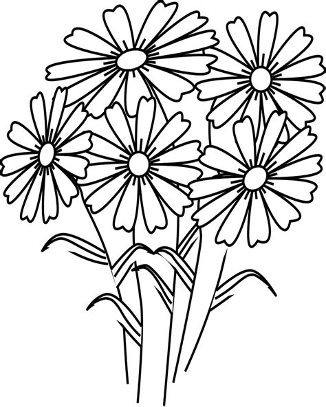 Coloring Background by Flowers Coloring Pages Coloringsuite
