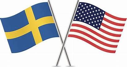 Swedish Flag American Clip Vector Flags Illustrations