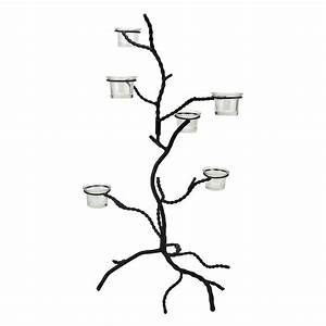 Shop christmas central tree candle holder at lowescom for Kitchen cabinets lowes with candle holder tree