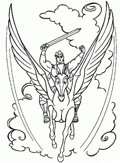 Coloring Pages by Free Printable Hercules Coloring Pages For