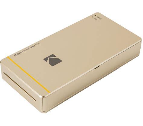 Mini Photo by Kodak Mini Photo Printer Gold Deals Pc World