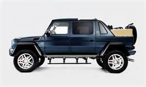 mercedes maybach g wagon landaulet cool material
