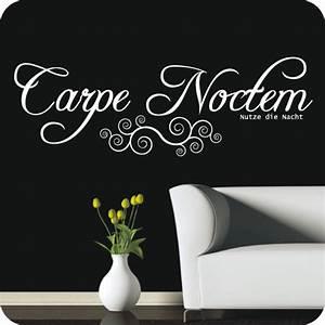 Wandtattoo Carpe Noctem : wandtattoo carpe noctem wandtattoo worte zitate ~ Sanjose-hotels-ca.com Haus und Dekorationen