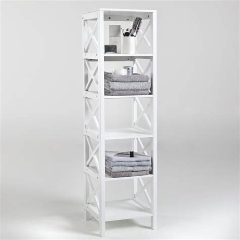 meuble etagere salle de bain colonne salle de bain pensez 224 exploiter l espace vertical archzine fr