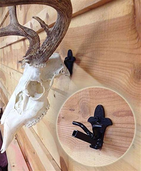 buck bracket european deer skull hanger mount kit  whitetail  mule deer sized game worlds