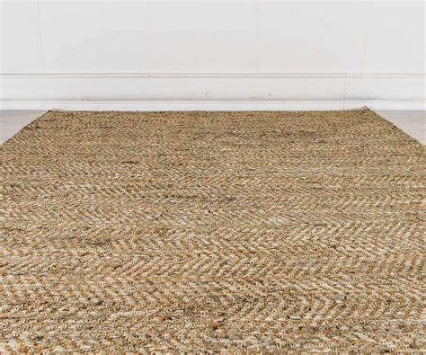 tappeto juta tappeto in juta e pelle beige 180 x 230 cm duzzle
