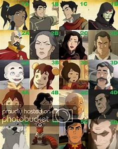 The Legend Of Korra Characters Pictures Quiz By