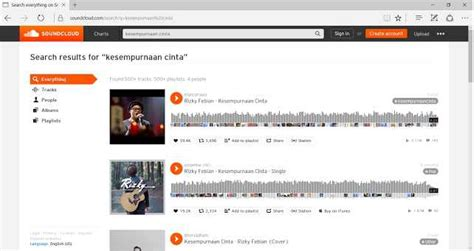 simpan lagu mp soundcloud  android