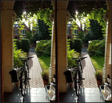 mind blowing  cross view illusion