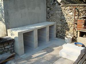 construction d39un barbecue sur mesure a construire With construction d un barbecue exterieur
