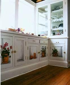 les 163 meilleures images du tableau meubles peints sur With kitchen cabinets lowes with peindre sur du papier peint