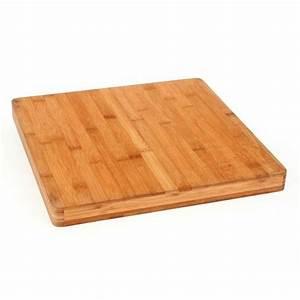 Planche à Dessin En Bois : planche d couper carr e bambou achat vente planche ~ Zukunftsfamilie.com Idées de Décoration