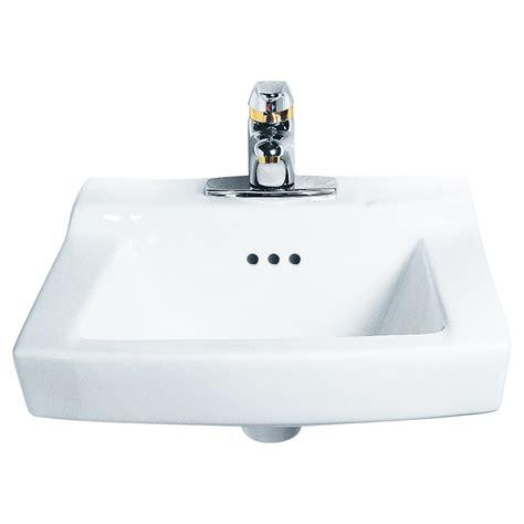 wall mount bathroom sink faucet comrade wall mounted sink american standard