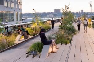 Park Vias by The High Line A Park Over The City Of New York