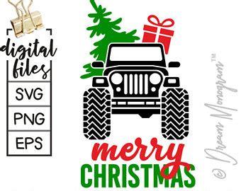 christmas tree jeep jeep christmas tree etsy