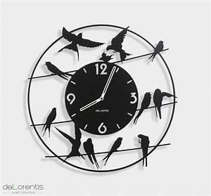 Grande Horloge Murale Originale : horloge murale originale design ~ Teatrodelosmanantiales.com Idées de Décoration