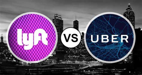 A Lyft Vs. Uber Rideshare Clash