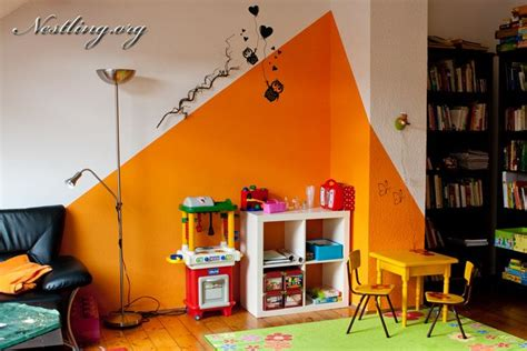 Spielecke Im Wohnzimmer Nach Montessori