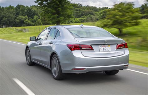 drive  acura tlx driving