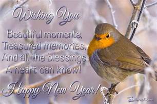 happy new years postcard new year blessings