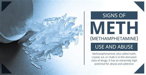 signs  methamphetamine   abuse