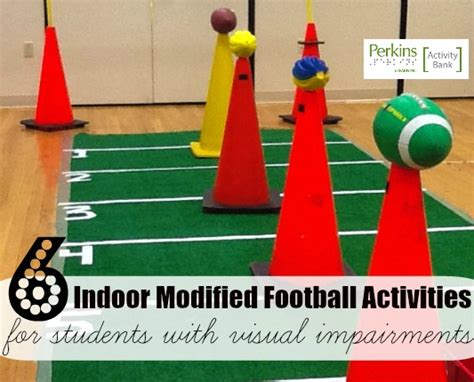 indoor football modified  students  multiple