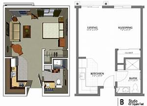Studio Apartment Floor Plan Home Design Ideas