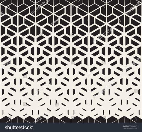 vector seamless black white hexagon triangle stock vector 336554861
