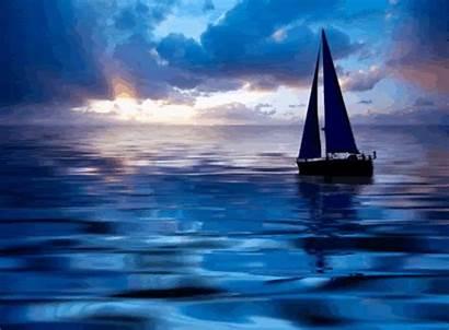 Sea Boat Ocean Moving Sailing Smooth Six