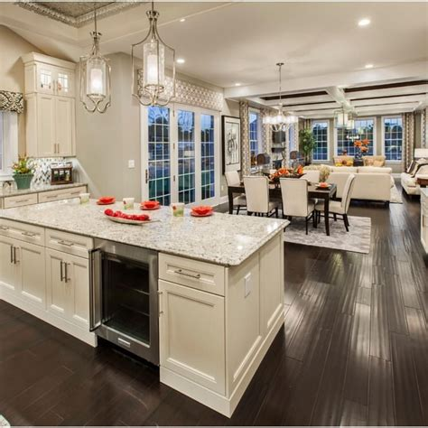 Loving This Open Concept By @tollbrothers  Interiors. What Color Should I Paint My Kitchen Walls. Adhesive Tiles For Kitchen Backsplash. Laminate Tile Flooring Kitchen. Kitchen Countertops Sacramento. Kitchen Backsplash Tiles Glass. Replacing Kitchen Floor. White Kitchen Light Floors. Country Kitchen Colors