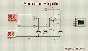 Operational Amplifier As The Summing Amplifier
