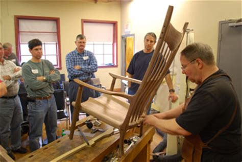 maloof rocking chair class maloof inspired rocking chair seminar