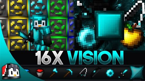 Vision 16x Mcpe Pvp Texture Pack Gamertise