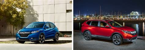 what are the differences between the 2018 honda hr v and