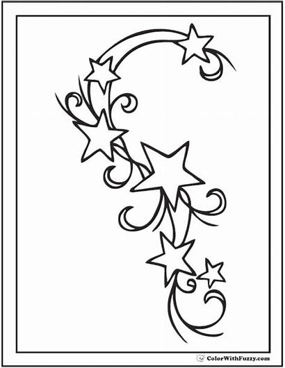 Coloring Star Pages Pdf