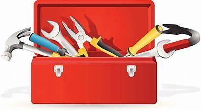 Toolbox Open Tool Box Empty Clipart Vector