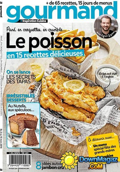 gourmand magazine cuisine gourmand 2 mars 2016 no 340 pdf magazines magazines commumity