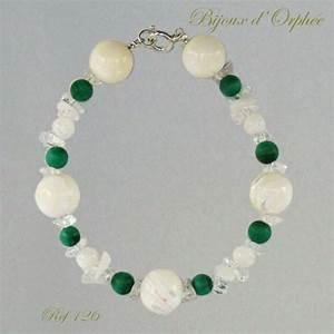 bracelet fantaisie perles en nacre argent 925 1000 With création de bijoux fantaisie