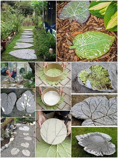 wonderful diy stepping stone ideas   garden