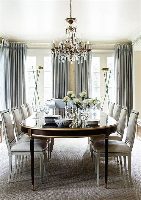 Informal Dining Room Ideas by This Gray And Formal Dining Room With Gold And