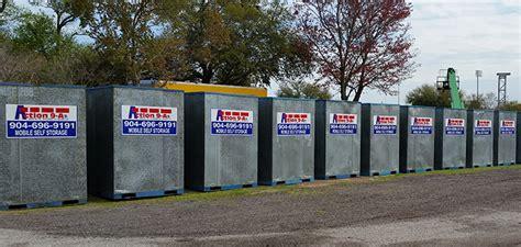 portable  demand storage container pod moving company