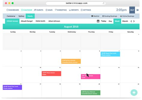 apppointment scheduling software  clinics